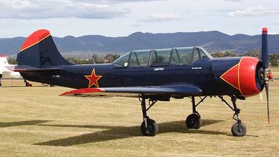 A picture of VHYAU - Yakovlev Yak52 - [833309] - © David Sommerville