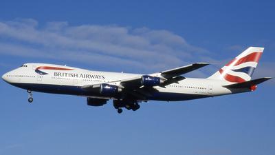 G-BDXB - Boeing 747-236B - British Airways