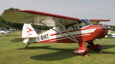G-BIHT - Piper PA-17 Vagabond - Private