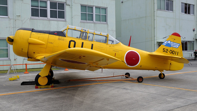 52-0011 - North American T-6F Texan - Japan - Air Self Defence Force (JASDF)