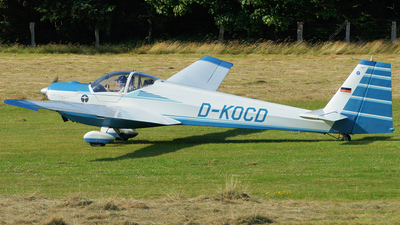A picture of DKOCD - Scheibe SF 25 C Rotax Falke - [44492] - © Marius Hoepner