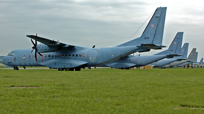 014 - CASA CN-295M - Poland - Air Force