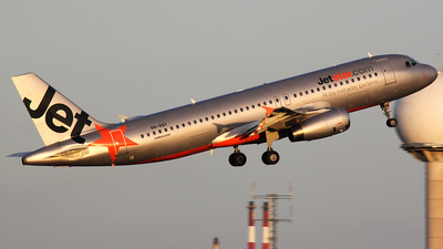 VH-VQY - Airbus A320-232 - Jetstar Airways
