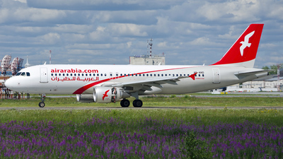 A6-AND - Airbus A320-214 - Air Arabia