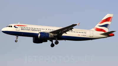 G-BUSH - Airbus A320-211 - British Airways