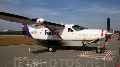 A picture of N845FE - Cessna 208B Super Cargomaster - FedEx - © Agustin Anaya