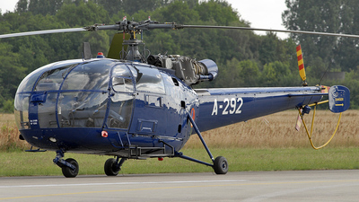 A-292 - Aérospatiale SA 316B Alouette III - Netherlands - Royal Air Force