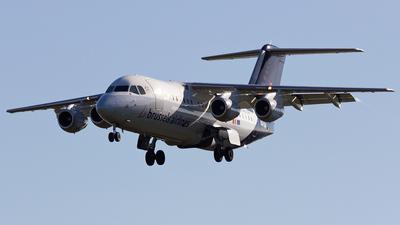 OO-DJX - British Aerospace Avro RJ85 - Brussels Airlines
