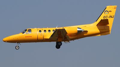 EC-INJ - Cessna 501 Citation SP - Clipper National Air