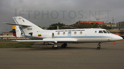 1650 - Dassault Falcon 20C - Venezuela - Air Force
