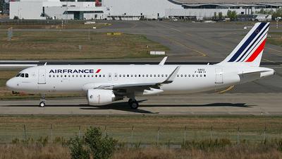 F-WWIX - Airbus A320-214 - Air France