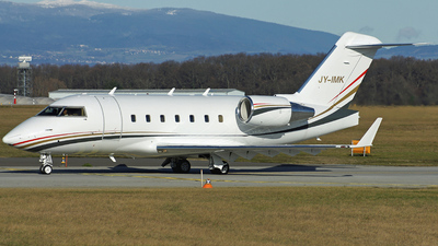 JY-IMK - Bombardier CL-600-2B16 Challenger 604 - Private