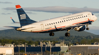 N108HQ - Embraer 170-200LR - US Airways Express (Republic Airlines)