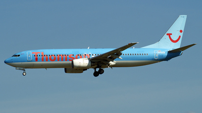 G-CDZM - Boeing 737-804 - Thomson Airways
