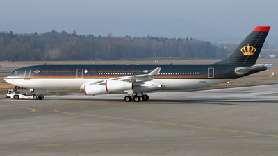 JY-ABH - Airbus A340-211 - Jordan - Government