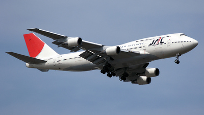 JA8907 - Boeing 747-446D - Japan Airlines (JAL)