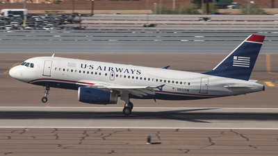 N802AW - Airbus A319-132 - US Airways