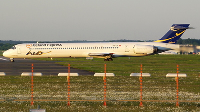 HB-JIE - McDonnell Douglas MD-90-30 - Iceland Express (Hello)