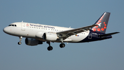 OO-SSG - Airbus A319-112 - Brussels Airlines