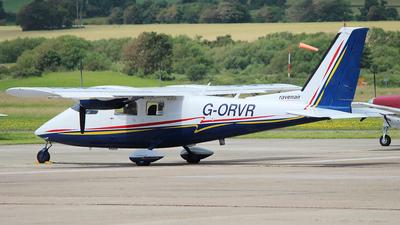 A picture of GORVR - Partenavia P68B Victor - Ravenair - © n94504