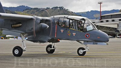 FAC2210 - North American OV-10A Bronco - Colombia - Air Force