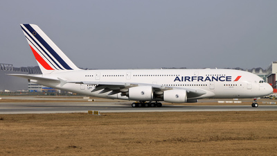 F-WWAN - Airbus A380-861 - Air France