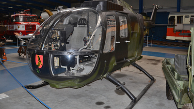 86-81 - MBB Bo105P1 - Germany - Air Force