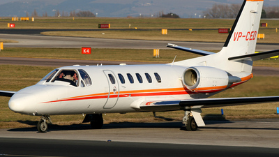 VP-CED - Cessna 550B Citation Bravo - Private