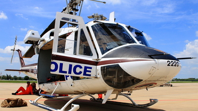 2220 - Bell 212 - Thailand - Royal Thai Police Wing