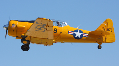 N42JM - North American AT-6G Texan - Private