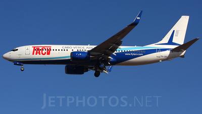 D4-CBX - Boeing 737-8Q8 - TACV Cabo Verde Airlines