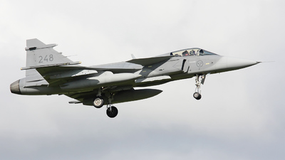 39248 - Saab JAS-39C Gripen - Sweden - Air Force