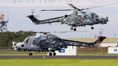XZ692 - Westland Lynx HMA.8DSP - United Kingdom - Royal Navy