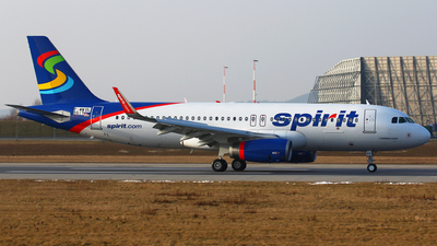 F-WWDL - Airbus A320-232 - Spirit Airlines