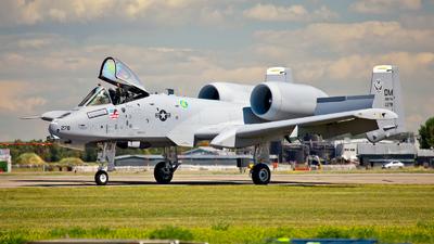 80-0278 - Fairchild OA-10A Thunderbolt II - United States - US Air Force (USAF)