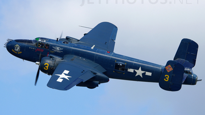 N9643C - North American B-25J Mitchell - Commemorative Air Force