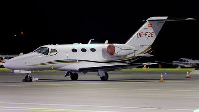 OE-FZE - Cessna 510 Citation Mustang - Private