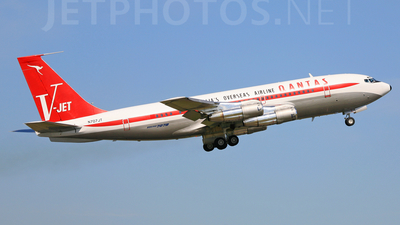 N707JT - Boeing 707-138B - Jett Clipper Johnny