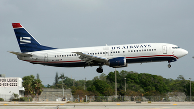N421US - Boeing 737-401 - US Airways