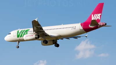 LZ-MDB - Airbus A320-232 - Air Via