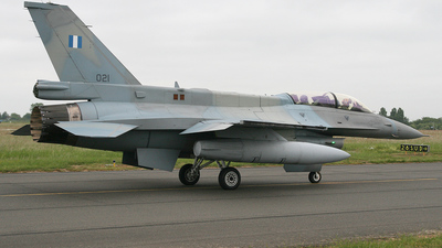 021 - Lockheed Martin F-16DJ Fighting Falcon - Greece - Air Force