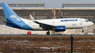 VQ-BEO - Boeing 737-76Q - Alrosa Airlines