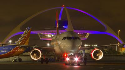 N835VA - Airbus A320-214 - Virgin America
