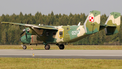 0213 - PZL-Mielec M-28TD Bryza - Poland - Air Force