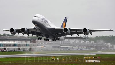 """A picture of FWWSR - Airbus A380 - Airbus - © """"Alejandro Espinoza"""