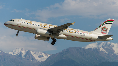 A6-EIR - Airbus A320-232 - Etihad Airways