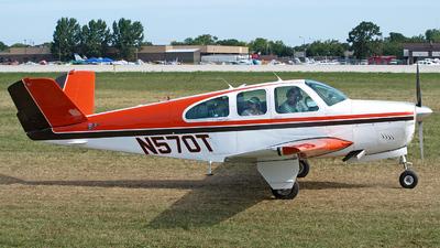 A picture of N570T - Beech N35 Bonanza - [D6747] - © Steve Homewood