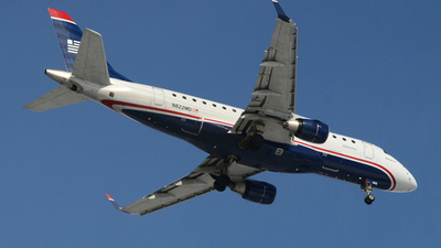 N822MD - Embraer 170-100SU - US Airways Express (Republic Airlines)