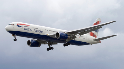 G-BNWU - Boeing 767-336(ER) - British Airways