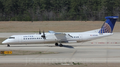 N354NG - Bombardier Dash 8-Q402 - United Express (Colgan Air)